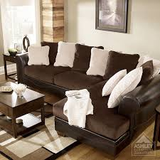 Ashley Furniture Armchair Ashley Furniture Homestore Victory Chocolate Sectional