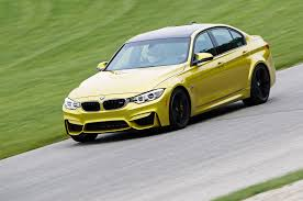 Bmw M3 Yellow Green - 2015 bmw m3 track drive road trip