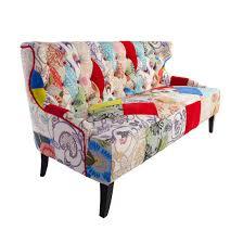 Patchwork Armchair For Sale Modern Edda Patchwork Sofa