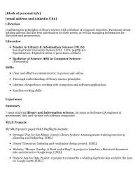 Librarian Resume Examples by For Public Review Unnamed Job Hunter 20 Hiring Librarians