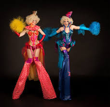 clown stilts missinglinkproductions circus entertainers for corporate