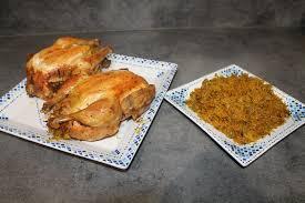 cuisine marocaine poulet farci poulet farci et roti