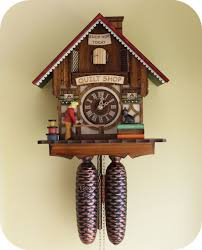 quilt shop cuckoo clock it s animated