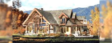 timber frame and log home floor plans by precisioncraft striking