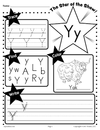 free letter y worksheet tracing coloring writing u0026 more