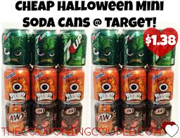 halloween soda mini cans just 1 38 at target reg 2 69