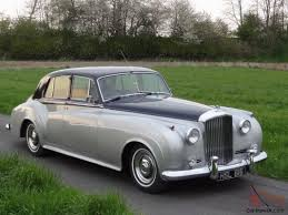 roll royce grey bentley s1 sports saloon 1958 shell grey blue pas not rolls royce