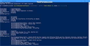 tutorial windows 10 in romana turn windows features on or off in windows 10 windows 10 tutorials
