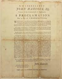 state library of massachusetts thanksgiving proclamations at the
