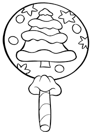 candy coloring pages christmas lollipop candy coloring page cookie pinterest