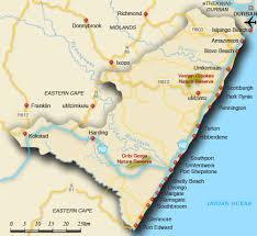 coast map map of south coast south coast map south africa
