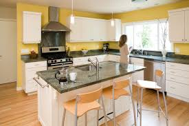 Kitchen Yellow Walls White Cabinets by 100 Beautiful Kitchens To Inspire Your Kitchen Makeover