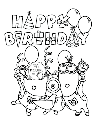 birthday coloring pages boy printable birthday coloring pages boy coloring pages free printable