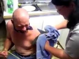 redneck tattoo removal not for the weak at heart youtube