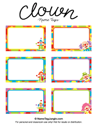 printable name tags free printable kids name tags