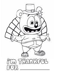 celebrate thanksgiving with gummibär enter thanksgiving coloring