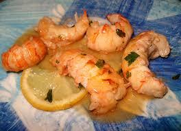 cuisiner les langoustines queues de langoustines poelées au citron