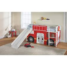 K Mart Bunk Beds Truck Loft Bed With Slide Saw This At Kmart And Has