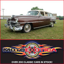 Country Classic Cars - 1953 chrysler town u0026 country wagon motoexotica classic car sales