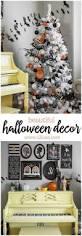 beautiful halloween decor from halloween trees to gallery walls