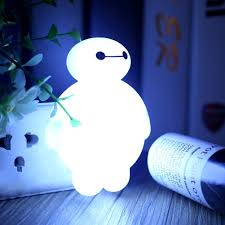 aliexpress com buy baymax sensor led night light bedroom energy