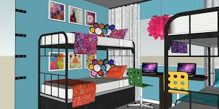 room tour 48 makeover mondays tiny bedroom 4 girls in 1 room