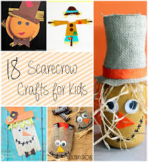 18 scarecrow crafts for kids