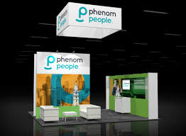 booth rental phen001 20x20 trade show booth rental exhibitrents display