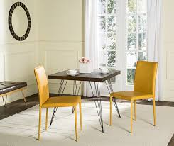 Safavieh Dining Chair 25 Dining Areas With Yellow Dining Chairs Home Design Lover