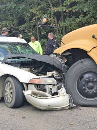 beaver local students escape injury in crash car driver