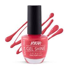 nykaa cosmetics nail polish buy nykaa salon shine gel nail lacquer