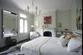 Shabby Chic Wall Colors by Chic Bedroom Designed With Fireplace And Pastel Wall Colors With