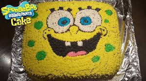 spongebob squarepants cake how to make a spongebob cake spongebob squarepants cake