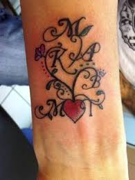 Tattoo Add On Ideas Initial Tattoo Idea I Would Use Just One S For Both Names Maybe