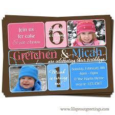 kids birthday invitation wording samples free printable