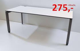 Schreibtisch 1 20 M Breit Schreibtisch Frameone 180 Cm Höhenverstellbar Weiß