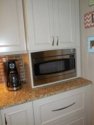 Microwave Kitchen Cabinets Built In Microwave Google Search Microwave Pinterest