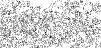 adventure time coloring pages4 free printables coloring pages