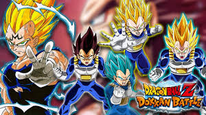 vegeta u0027s evolution good double fan art dragon