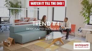 8 top office design trends in 2018 youtube