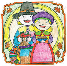 thanksgiving coloring contest winners daily sun news