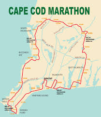 Map A Running Route by Marathon Route Map Cape Cod Marathon Weekend Falmouth Ma