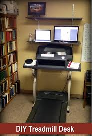 Desk Treadmill Diy Pin By Collins On Build Pinterest Treadmill Desk