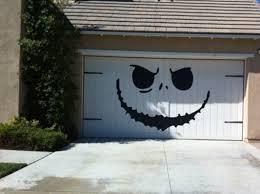 magnetic garage door halloween decorations halloween garage door