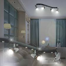 éclairage chambre bébé football projecteur de plafond enfant noir le luminaire