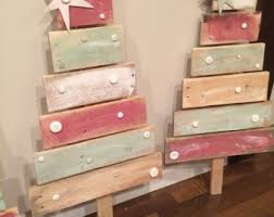 Pallets Christmas Decorations Wholesale wooden trees rustic christmas tree christmas decorations