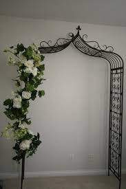 wedding arches on the garland for wedding arch atdisability