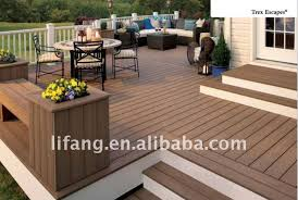 eco friendly wpc decking composite laminate flooring composite