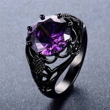 amethyst rings images Dark vintage amethyst ring ess6 fashion jpg
