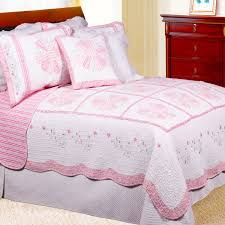 Daisy Crib Bedding Sets by Pastel Pink Daisy Floral Bedding Twin Full Queen King Quilt Set